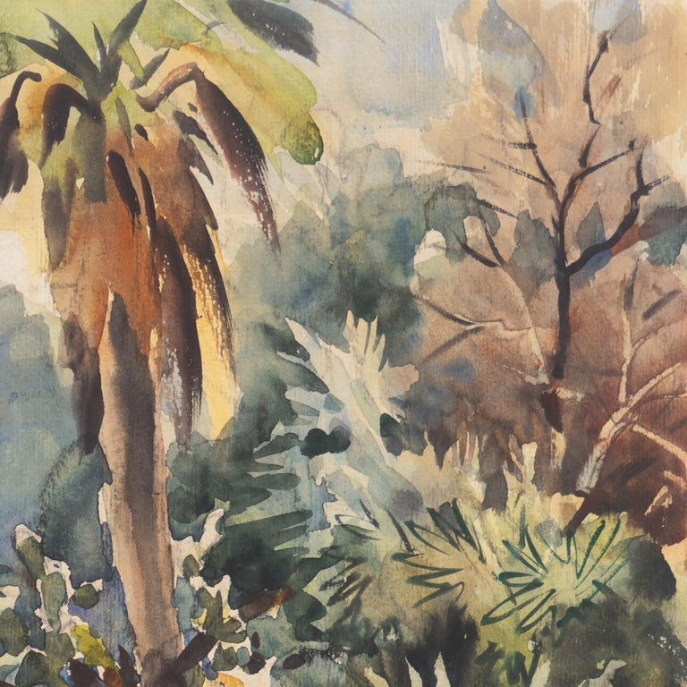 'Impressionist Landscape with Agave', Sequoia Art Group, California Plein Air For Sale 2