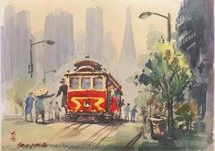 'San Francisco Cable Car, Transamerica Pyramid', Taipei, Taiwan, Tokyo Museum