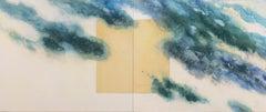 'Cloudscape Mandala' Seoul, Korea, San Francisco Bay Area Abstract Expressionism