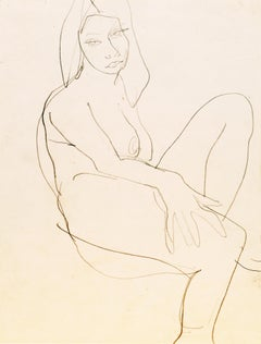 Post-Impressionist Nude Drawings and Watercolours