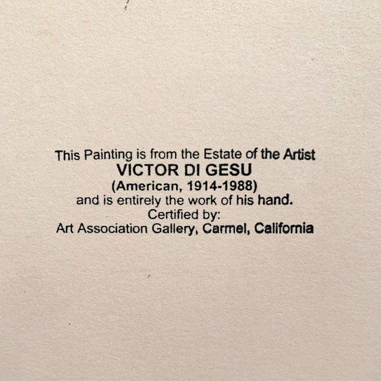 'Woman Standing', Carmel Artist, Louvre, Paris, Academie Chaumiere, SFAA, LACMA For Sale 3