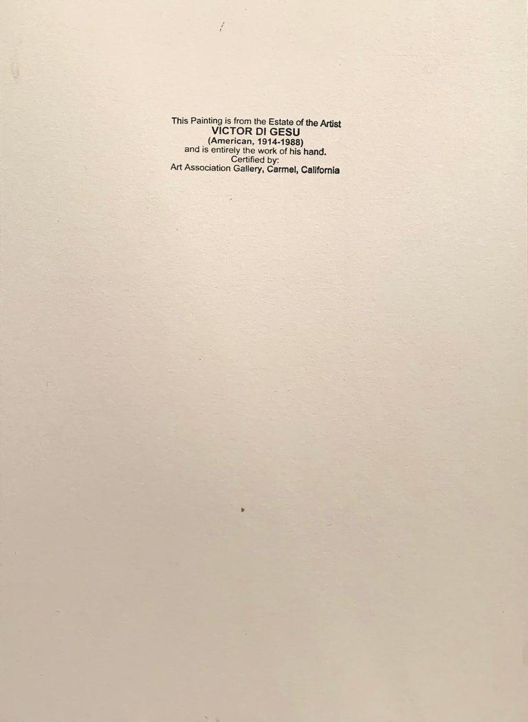 'Woman Standing', Carmel Artist, Louvre, Paris, Academie Chaumiere, SFAA, LACMA For Sale 2