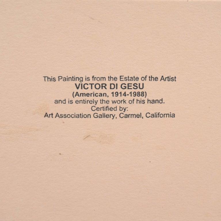 'Woman Seated', Carmel Artist, Louvre, Academie Chaumiere, Paris, SFAA, LACMA For Sale 4