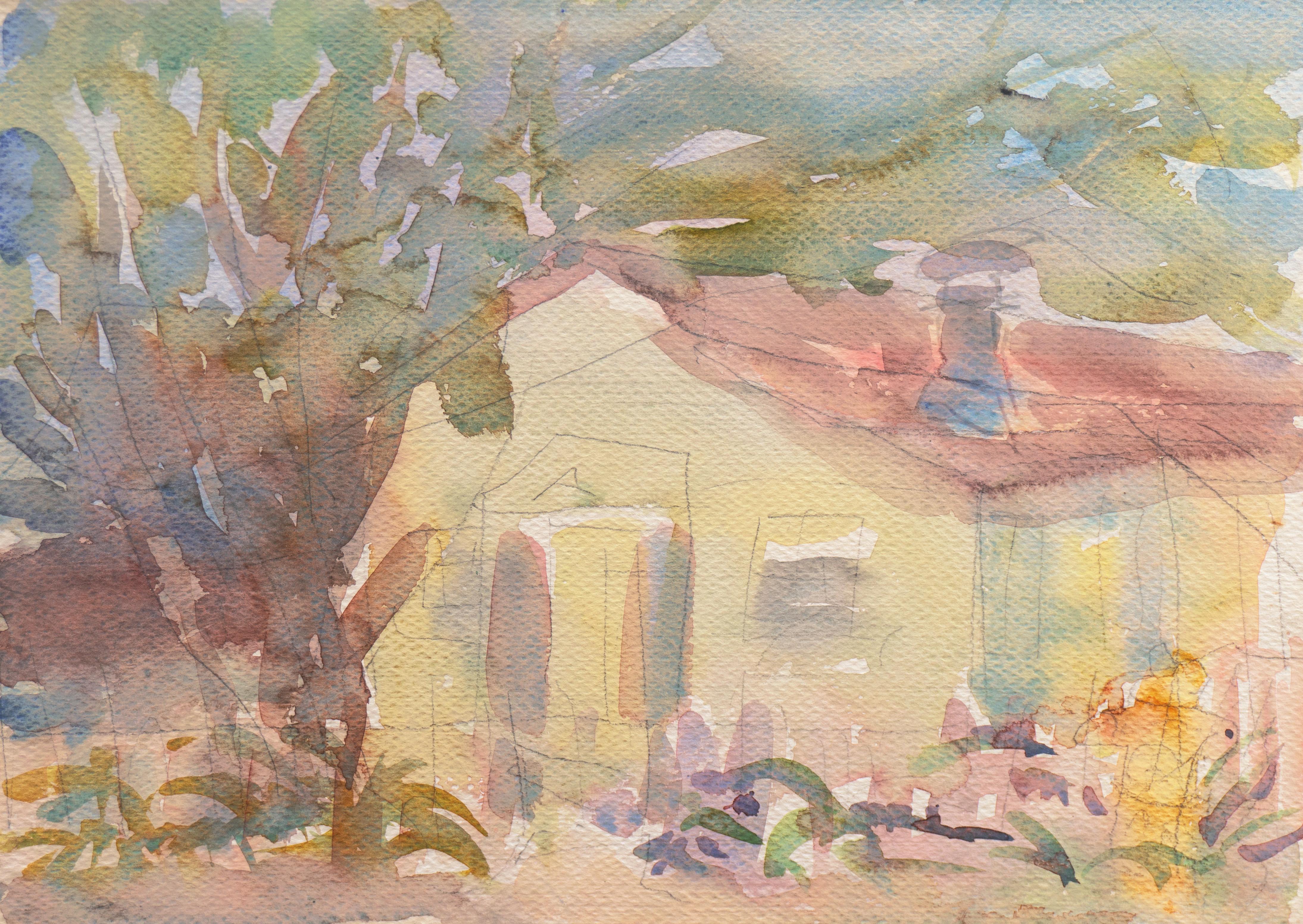 'Old Carmel Cottage', California, Louvre, Academie Chaumiere, Paris, SFAA, LACMA