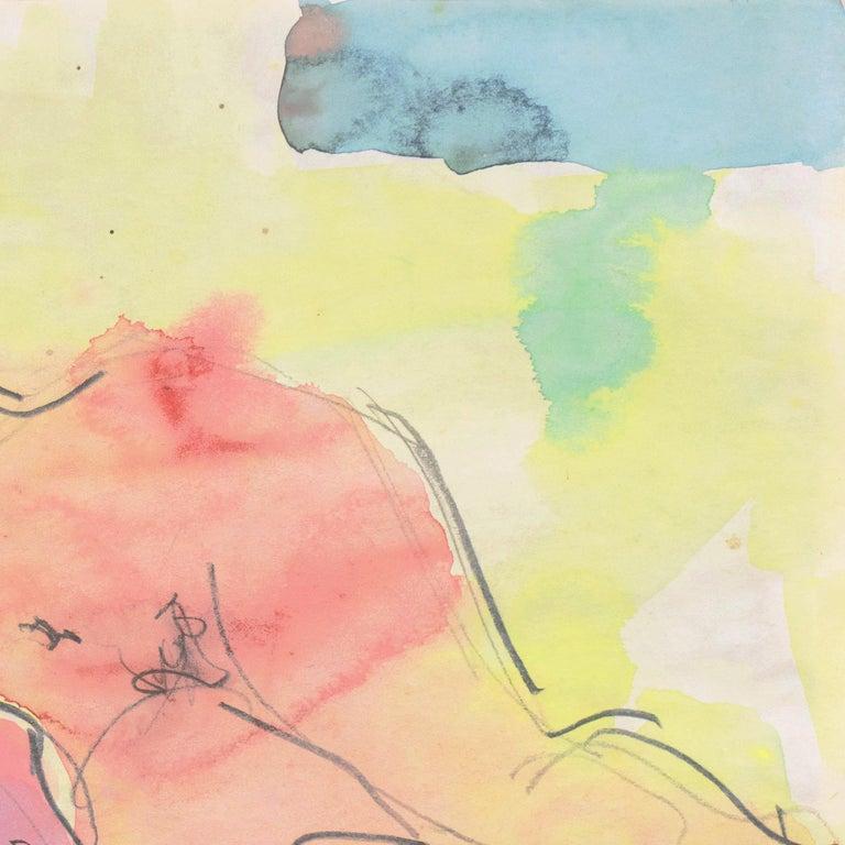 'Reclining Nude', Carmel, California, Louvre, Academie Chaumiere, SFAA, LACMA For Sale 1