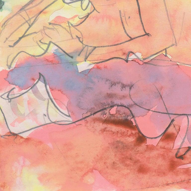 'Reclining Nude', Carmel, California, Louvre, Academie Chaumiere, SFAA, LACMA For Sale 3