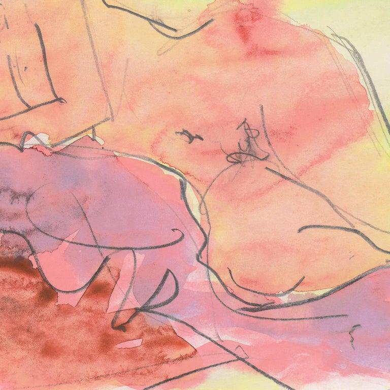 'Reclining Nude', Carmel, California, Louvre, Academie Chaumiere, SFAA, LACMA For Sale 2