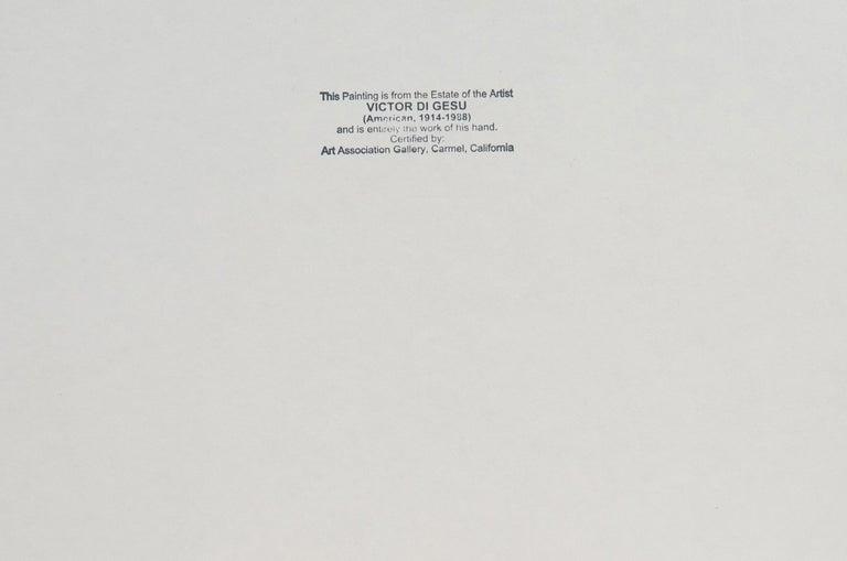 'Reclining Nude', Carmel, California, Louvre, Academie Chaumiere, SFAA, LACMA For Sale 5