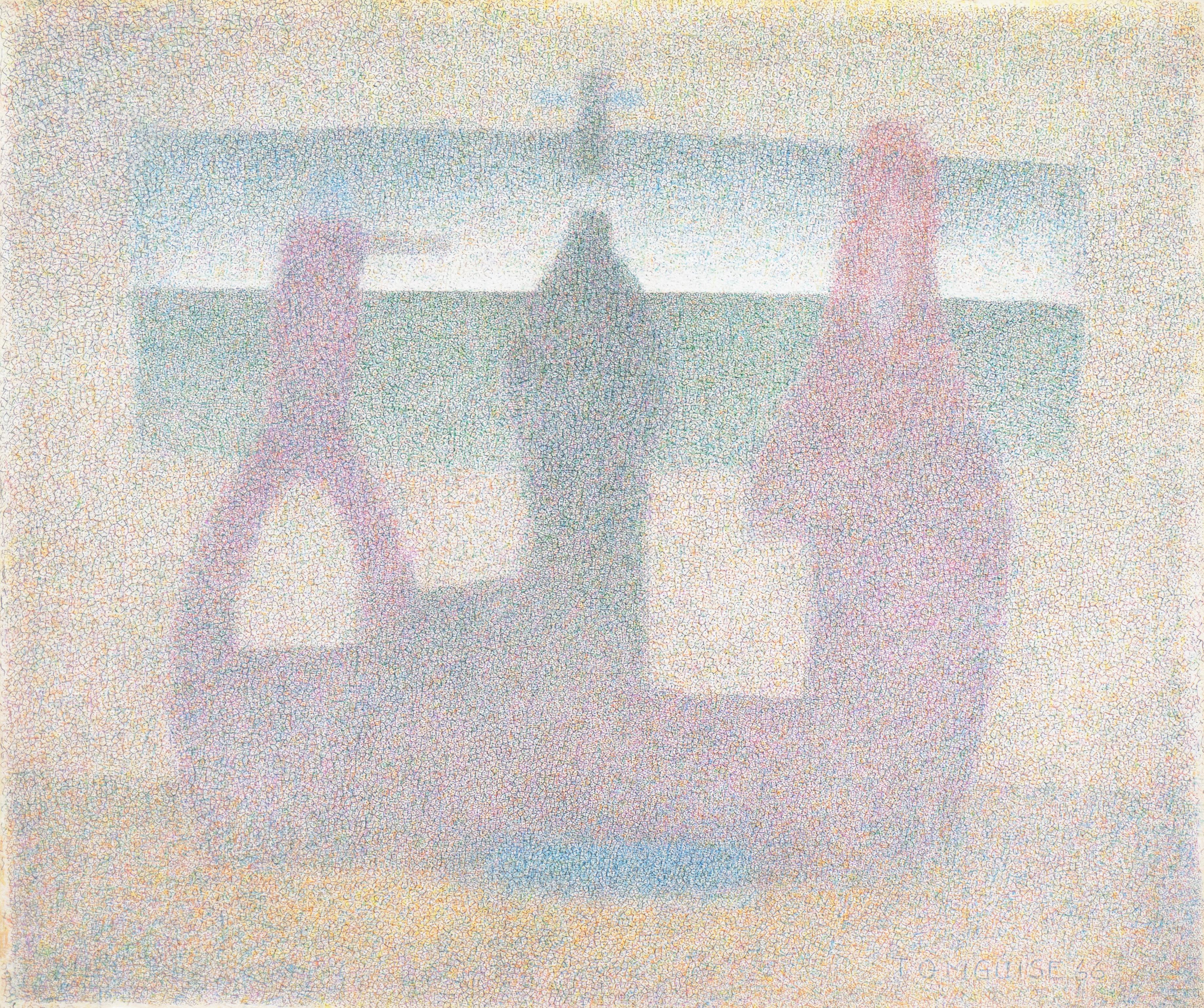 'Sand Castle', Palo Alto, Royal Society of Artists, Edinburgh Academy, RBA