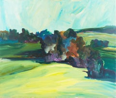 'Large Northern California Landscape', Woman Artist, Mount Mary College, Chicago