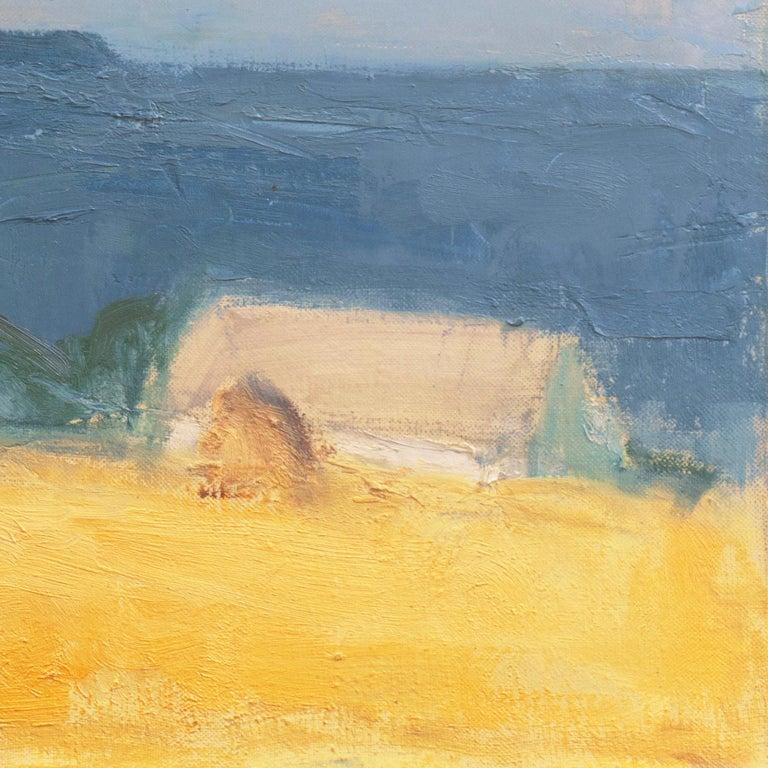 'The Coast at Bornholm', Paris, Charlottenborg, Bornholm School, Benezit - Impressionist Painting by Mogens Hertz