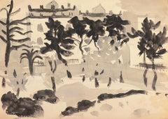 'Old Carmel', Louvre, Paris, Academie Chaumiere, Carmel, California, SFAA, LACMA