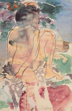 Nude Drawings and Watercolours