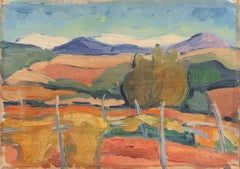 'Landscape outside Cannes', Salon d'Automne, Paris, France, Royal Danish Academy