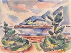 'Oregon Coast', Art Institute of Chicago, AIC, Works Project Association, WPA