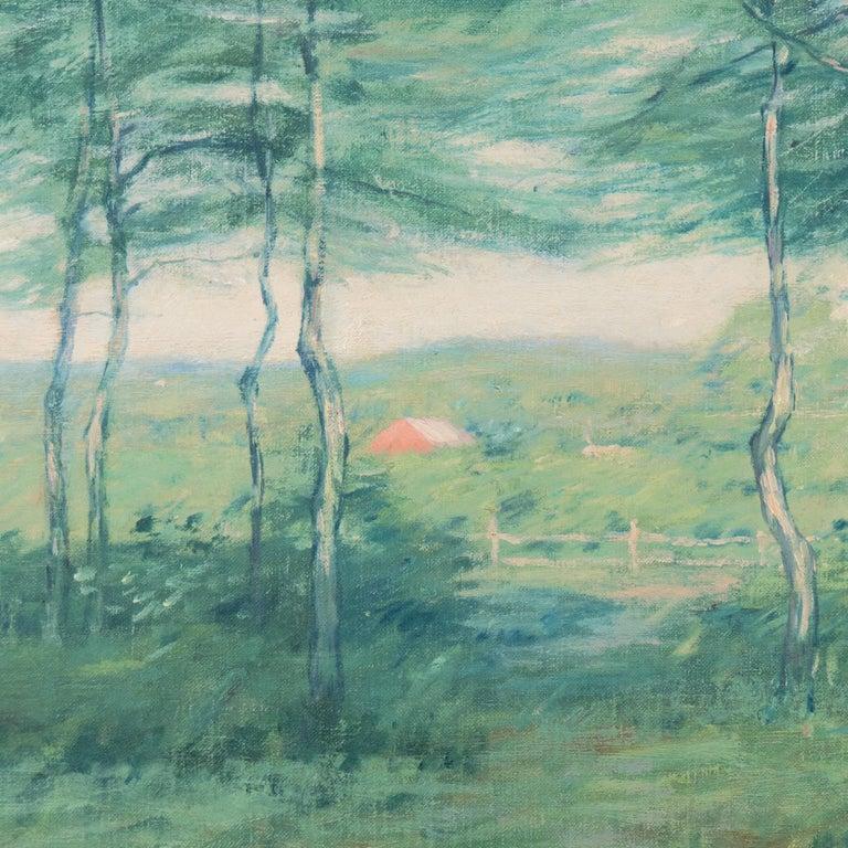 'Springtime', American Barbizon, National Academy of Design, Metropolitan Museum - Brown Landscape Painting by Henry Golden Dearth