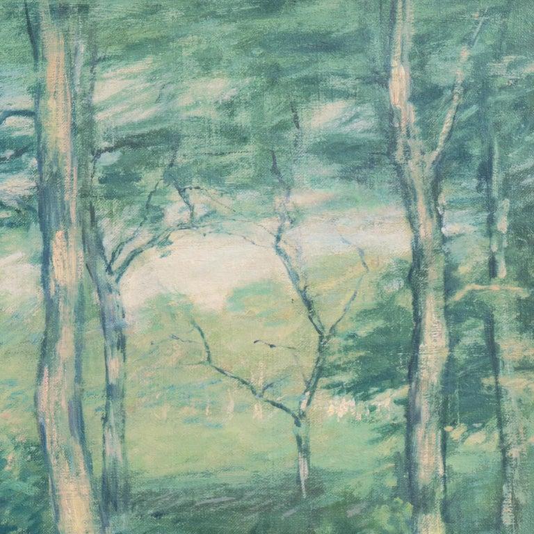 'Springtime', American Barbizon, National Academy of Design, Metropolitan Museum For Sale 2