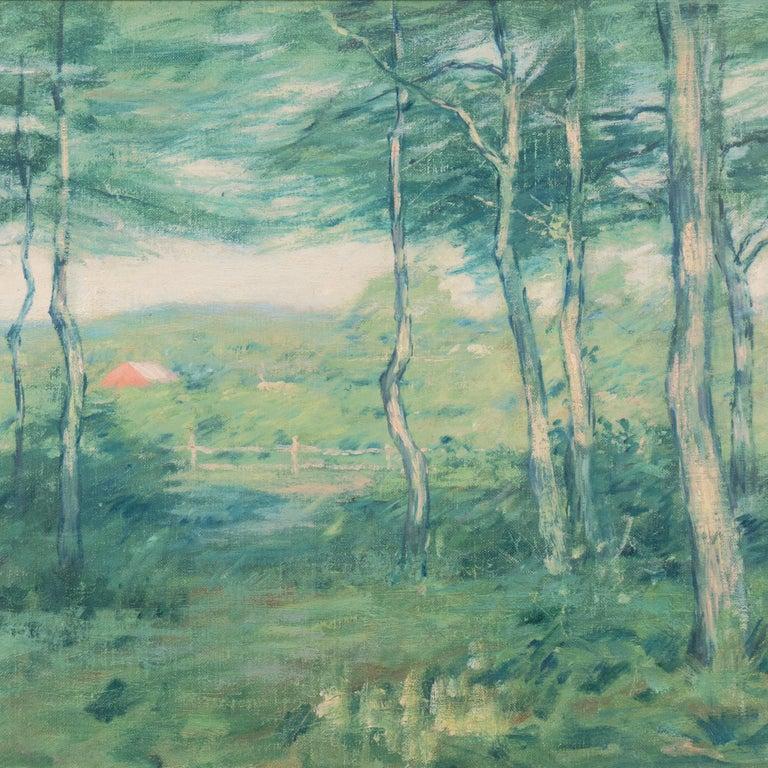 'Springtime', American Barbizon, National Academy of Design, Metropolitan Museum For Sale 3