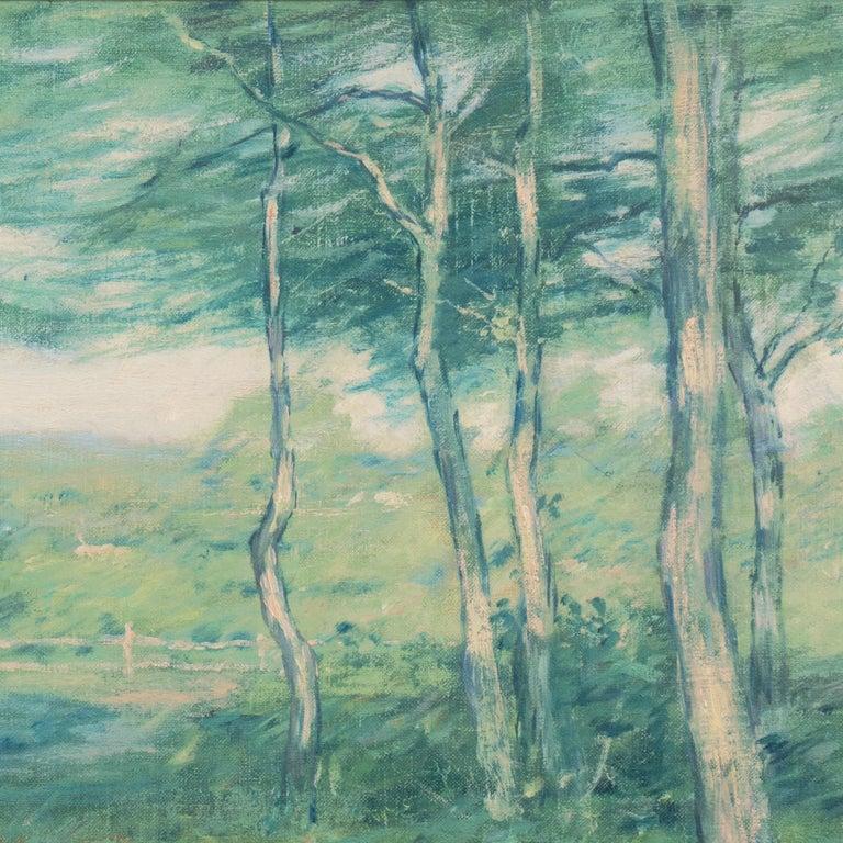 'Springtime', American Barbizon, National Academy of Design, Metropolitan Museum For Sale 4