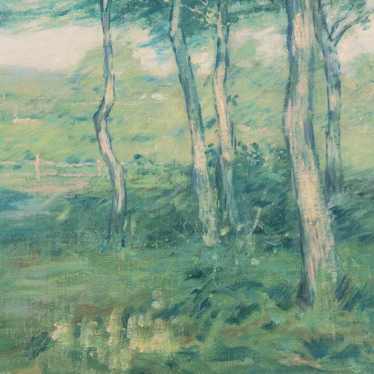 'Springtime', American Barbizon, National Academy of Design, Metropolitan Museum For Sale 5