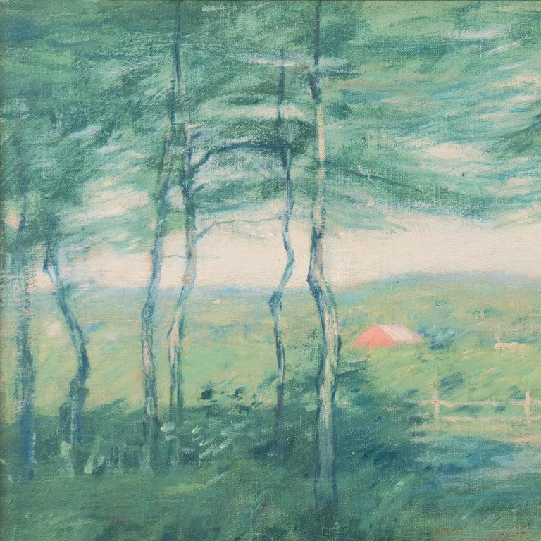 'Springtime', American Barbizon, National Academy of Design, Metropolitan Museum For Sale 7