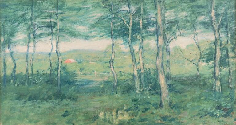 'Springtime', American Barbizon, National Academy of Design, Metropolitan Museum - Painting by Henry Golden Dearth