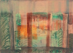 'Evening Landscape' Bay Area Abstraction, San Francisco Museum of Fine Arts, CWS