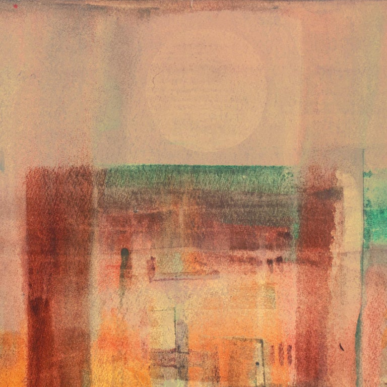 'Evening Landscape' Bay Area Abstraction, San Francisco Museum of Fine Arts, CWS For Sale 2