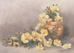 'Still Life of Tea Roses', Woman Artist, Gold Medal, PAFA, New York, ASL, NAD