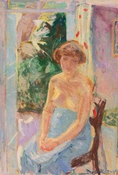 'Seated Nude', Paris, Royal Danish Academy, Charlottenborg, Bornholm, Benezit