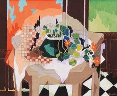 'Still Life of Nasturtiums', Cubist, Paris, Salon d'Automne, Salon des Tuileries