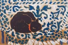 'Black Cat Sleeping', California Fauve, Paris, San Francisco, Laguna Beach