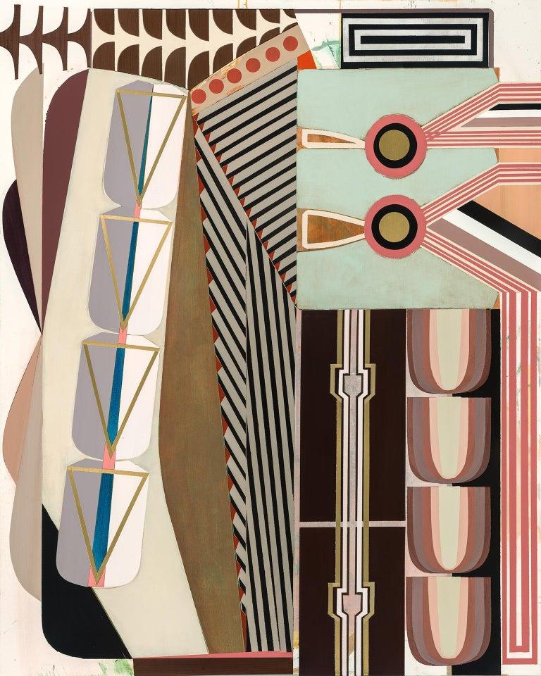 Alyson Khan  Abstract Painting - De-Nest/Departure