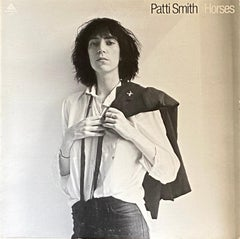Patti Smith Horses Vinyl Record 1st Pressing (photo by Robert Mapplethorpe)