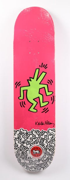 Keith Haring Skateboard Deck (Haring crocodile)