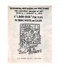 Rare vintage Keith Haring Pop Shop book (A Look-book for Kids)