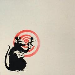 Banksy Radar Rat Record Art