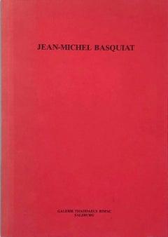Basquiat 1980s exhibition catalog (Basquiat at galerie Thaddaeus Ropac 1986)