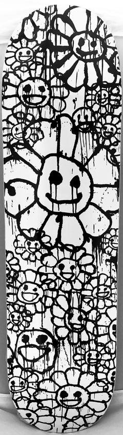 Takashi Murakami & Madsaki Skateboard Deck (Murakami Madsaki Flowers)