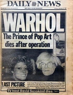 """Andy Warhol, 1928-1987: Pop Art's King Dies"""