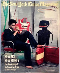 Basquiat, The New York Times Magazine 1985