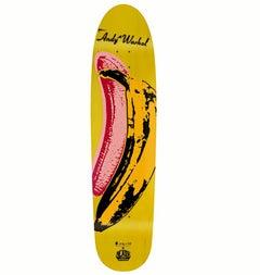 Andy Warhol Banana Skateboard Deck (Warhol velvet underground)