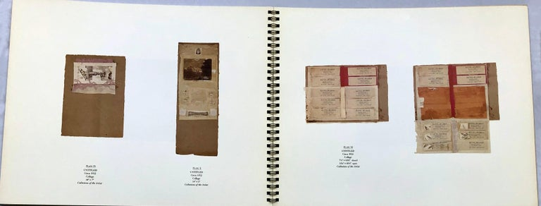 Signed Robert Rauschenberg exhibition catalog (Gagosian 1986) For Sale 3