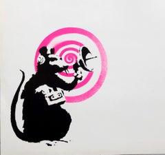 Banksy Radar Rat record album art