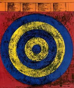 Jasper Johns Merce Cunningham and Dance Company poster (Jasper Johns target)