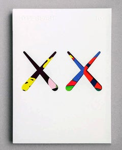 KAWS cover art (Kaws illustrated Hypebeast 2016)