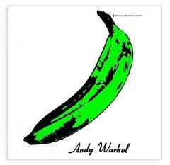 Andy Warhol Velvet Underground Vinyl Record Art