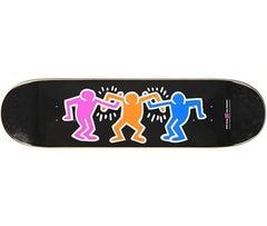 Keith Haring Friends Skateboard Deck (Black)