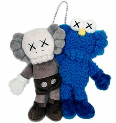 KAWS Seeing/Watching keychain (KAWS plush)