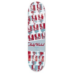 Andy Warhol Statue of Liberty Skate Deck (Warhol skateboard deck)
